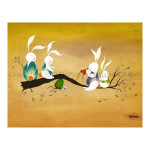 1014 - Bunny Teeter Totter